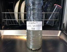Fabriquer du liquide lave-vaisselle bio