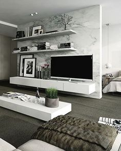 Contemporary Living Room #livingroom #contemporary #interior #interiors #interiordesign #design #architecture