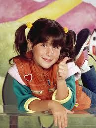 Punky Brewster.....80's memories of the following: mismatched sneakers, colorful bandanas, a rainbow colored bedroom, and pig tails.....