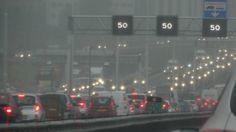 Chaotische avondspits door de regen meer dan 500 kilometer file - NOS
