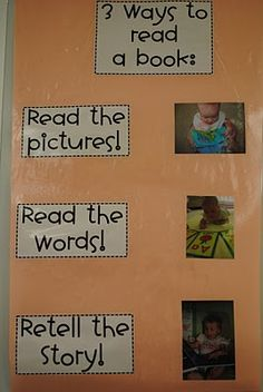 Anchor Chart for reading a book from http://firstgraderatlast.blogspot.com/search?updated-max=2010-07-26T16%253A59%253A00-07%253A00=50