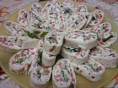 BLT Roll ups. I would make w/ half the cream cheese and no mayo, extra lettuce.
