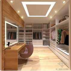 ғor мore pιnѕ A selection of 14 walk in closet designs that are both elegant and charming. Walk In Closet Design, Bedroom Closet Design, Master Bedroom Closet, Home Room Design, Closet Designs, Dream Home Design, Diy Bedroom, Bathroom Closet, Modern Bedroom