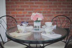 Tea Party Themed Bridal Shower - Pretty My Party