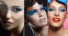 Maquiagem para o carnaval com sombra azul | Portal Tudo Aqui