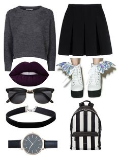 """""""Untitled #173"""" by bandsdestroyamylife on Polyvore featuring Iron Fist, Lime Crime, Glamorous, Alexander Wang, Givenchy, Miss Selfridge and New Look"""