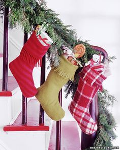Fringed stockings made out of scarves