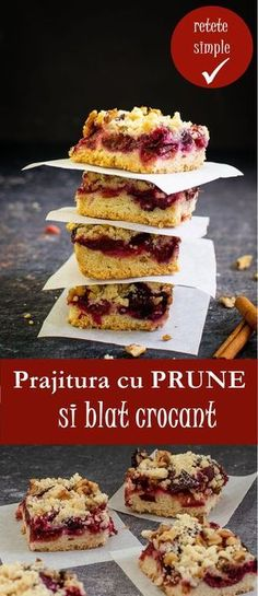 Romanian Desserts, Romanian Food, Romanian Recipes, Sweet Cakes, Sugar And Spice, Cake Cookies, Cookie Recipes, Sweet Treats, Cheesecake