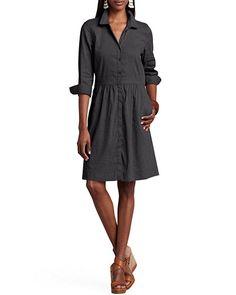 Summer - Shirtdress.  I neeed a classic full skirt shirtdress!