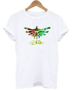 The legend of zelda toile affiche manches courtes Tee T shirt unisexe HOT tête tees s xxxl dans T-shirts de Accessoires et vêtements pour hommes sur AliExpress.com | Alibaba Group