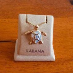 Kabana Jewelry Yellow Gold Sea Turtle Pendant by Kabana with White Mother of Pearl Dainty Diamond Necklace, Dainty Jewelry, Beach Jewelry, Cute Jewelry, Gold Jewelry, Jewelery, Jewelry Accessories, Jewelry Necklaces, Jewelry Design