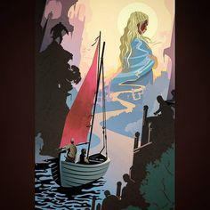 ||The journey of Jorah and Tyrion by @robertmball ✴ ✴ ✴ ✴ ✴ ✴ ✴ #gameofthrones #fanart #gotseason7 #winterishere #got #hbo #series #tvshow #love #dragons #targaryen #fireandblood #daenerystargaryen #khaldrogo #westeros #stark #lennister #cersei #jonsnow #kingofnorth #aryastark #sansastark #branstark #jonarys #tyrion #whitewalker #winteriscoming #likethis #folowme #instagood