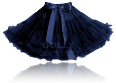 Available wholesale pettiskirts for your store. Ballet Bag, Rockabilly Baby, Salsa Dress, Tulle, Snow Queen, Chiffon Skirt, Satin Bows, Dance Outfits, Dark Blue