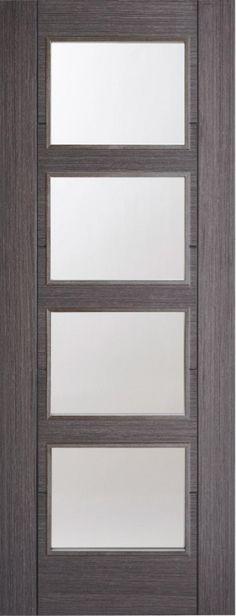 ... Internal Door Ash Grey - internal doors - colours - Vancouver Glazed Internal Door Ash Grey - Timber Tool and Hardware Merchants established in 1933 & Vancouver 4 Panel Glass Door 78x30 Light Grey - internal doors ...