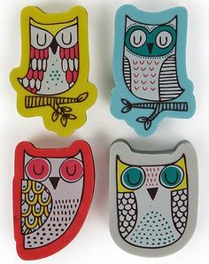 print & pattern blogs : PAPERCHASE - sleepy owls