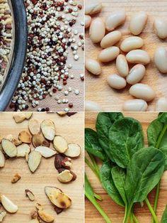 The best non-meat ways to get Protein! Healthy Cooking, Healthy Snacks, Healthy Eating, Clean Recipes, Whole Food Recipes, Clean Foods, Vegetarian Recipes, Healthy Recipes, Vegetarian Protein