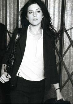 Charlotte Gainsbourg, sac Balenciaga