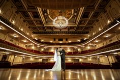 Cincinnati music hall wedding