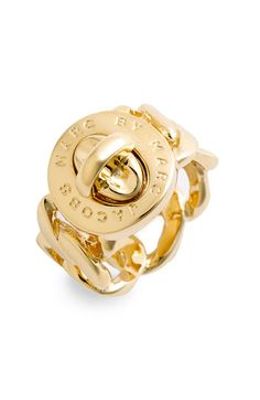 MARC BY MARC JACOBS 'Turnlock - Katie' Ring available at #Nordstrom