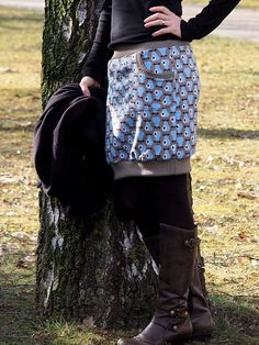 Jogging skirt - Sweat skirt - Rock Etta with hem cuffs - made by Keko-Kreativ Source by andreaschwer Sewing Projects For Kids, Sewing For Kids, Diy For Kids, Sewing Men, Baby Sewing, Diy Clothing, Sewing Clothes, Diy Couture, Structured Fashion