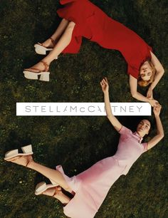 Mariacarla Boscono & Natalia Vodianova for Stella McCartney SS 2016 Campaign by Harley Weir