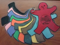 My Many Colored Days - kid color cutouts