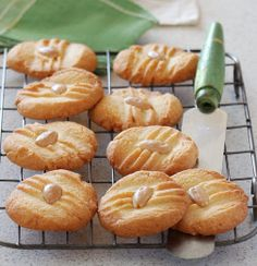 Almond Biscuits - using White Wings Plain Flour