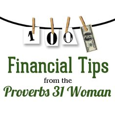 Read More About You will want to grab this FREE eBook today, 100 Financial Tips from the Proverbs 31 Woman! Ways To Save Money, Money Tips, Money Saving Tips, Financial Peace, Financial Tips, Budgeting Finances, Budgeting Tips, Proverbs 31 Woman, Show Me The Money