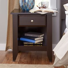 lombard 3 drawer nightstand nightstands and drawers