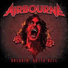 """AIRBOURNE: Ακούστε το νέο τους κομμάτι """"Breakin' Outta Hell"""""""