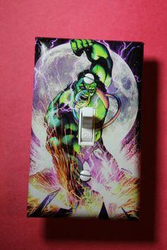 The Incredible Hulk Comic Book Superhero Light by ComicRecycled