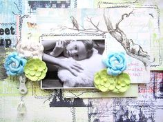 1, 2, 3, 4, 5! Prima DT used 5 products to create their projects with-this stunning layout is by Keren Tamir