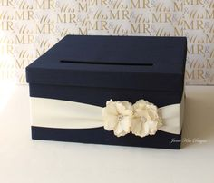 Wedding Card Box Gift Card Holder Money Box- Custom Card Box – The Best Ideas Wedding Gift Card Box, Money Box Wedding, Diy Wedding Gifts, Gift Card Boxes, Wedding Boxes, Wedding Cards, Wedding Ideas, Wedding Decorations, Quinceanera Decorations