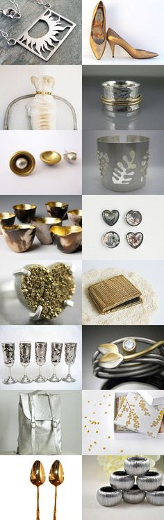 Silver and Gold, curated by Leslie Zemenek