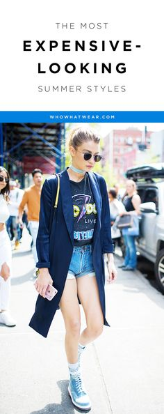 How to upgrade your summer style without spending a fortune, ya z şort kombinleri kot şort