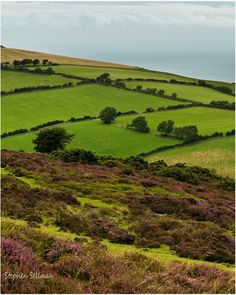 Exmoor National park, Devon. Exmoor blanket by ~sassaputzin on deviantART
