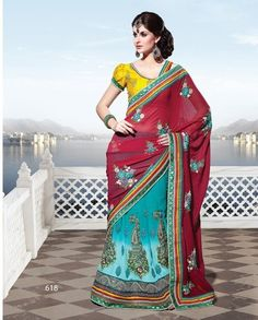 Designer Lehnga Saree - 618