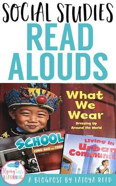 Social Studies Read Alouds for the Primary Classroom - Flying into First Grade