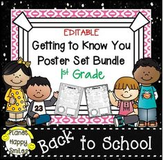 All kids love sharing about themselves!  They each love to tell about their family and things they like to do!  If you want to make your kids happy, and your parents happy, this is the bundle for you!  It is a great way for you to learn more about your student's lives outside the classroom!