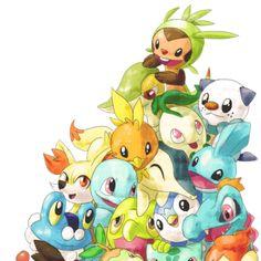iniciales pokemon