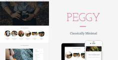 Peggy - A Responsive WordPress Blog Theme #wordpressblog #wordpresstheme #wordpress Download: http://themeforest.net/item/peggy-a-responsive-wordpress-blog-theme/10474850?ref=ksioks
