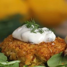 Vegan Crab Cakes by Tasty