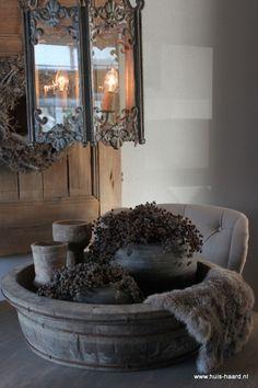 1000 images about sfeerimpressies huis haard on pinterest bakken rustic style and van for Deco oude huis