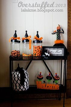 Halloween Decor ideas. #overstuffedlife