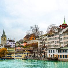 A scenic sight in Zurich, Switzerland. Photo courtesy of brianthio on Instagram.