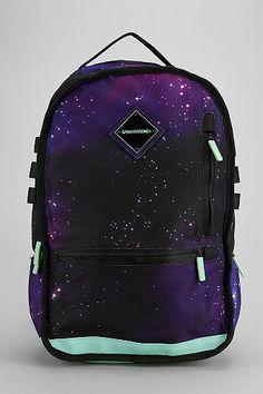 Sprayground Galaxy Deluxe Backpack on Wanelo