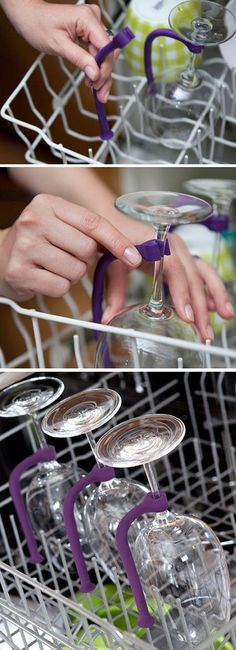 Stemware Saver. No more broken wine glasses!
