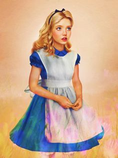 Dysney characters in real life - Jirka Vaatainen - Alice from Alice in Wonderland