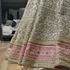 Beautiful lehengas by Zaffran Mehendi Outfits, Pakistani Outfits, Indian Outfits, Indian Clothes, Pakistani Couture, Pakistani Dress Design, Indian Look, Indian Wear, Desi Wedding