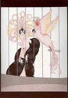 Erté - Illustrator, Designer, Legend - Page 2 - the Fashion Spot